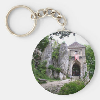Medieval Castle Ruins Keychain