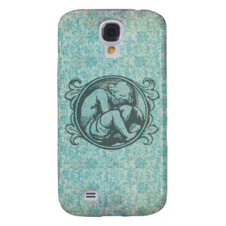 Medieval child (retro boy) in classic vintage art galaxy s4 case