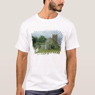 Medieval church and churchyard T-Shirt