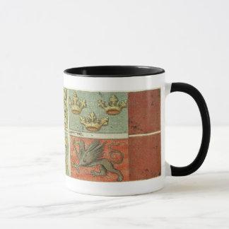 Medieval Coat of Arms Ships Flag Mug