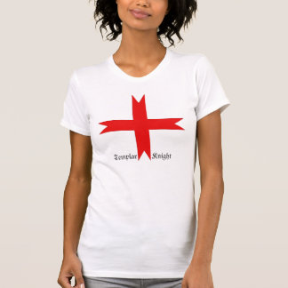 Medieval Cross of the Knights Templar Tee Shirt