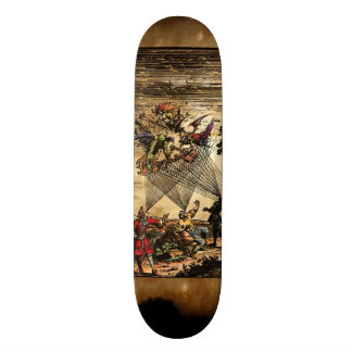 Medieval Demon Minstrels Custom Skateboard