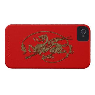 Medieval Dragon Antique Art Designer Gift Case-Mate iPhone 4 Cases