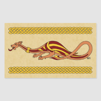 Medieval Dragon Design 2015 Stickers