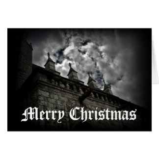 Medieval fantasy Merry Christmas Greeting Card
