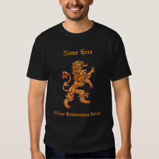 Medieval Gold Lion Tees