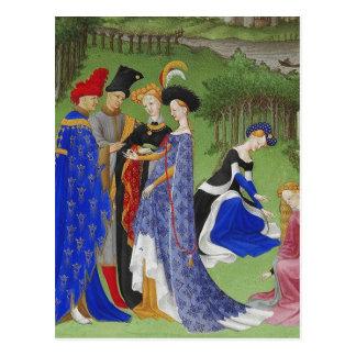 Medieval Greetings Postcard