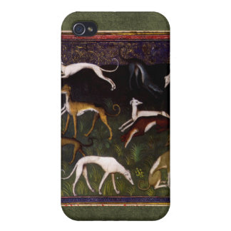 Medieval Greyhounds in the Deep Woods iPhone 4/4S Covers