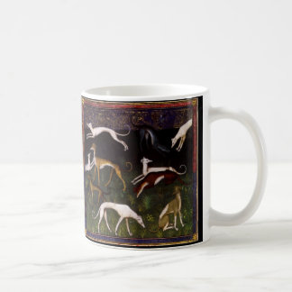 Medieval Greyhounds Mug