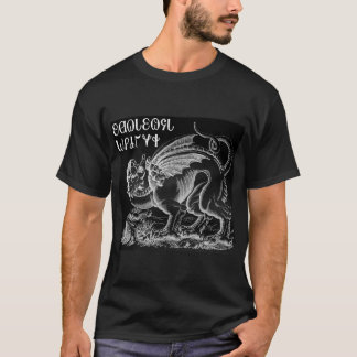 Medieval Griffin and Celtic Dragon Knot T-Shirt