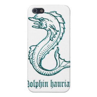 Medieval Heraldry Dolphin hauriant iPhone 5/5S Cover