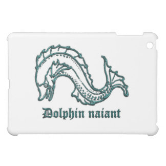 Medieval Heraldry Dolphin naiant iPad Mini Cases