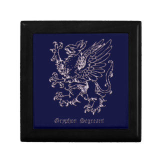 Medieval heraldry - Gryphon segreant Gift Box