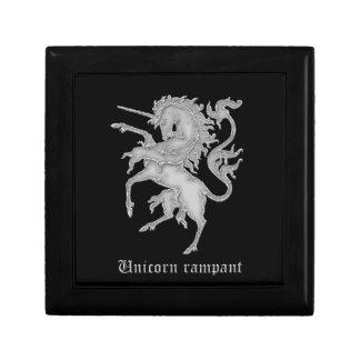 Medieval heraldry - Unicorn rampant Gift Box
