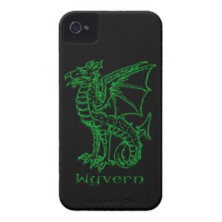 Medieval Heraldry Wyvern iPhone 4 Case