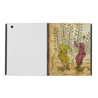 Medieval Herbalist Manuscript iPad case
