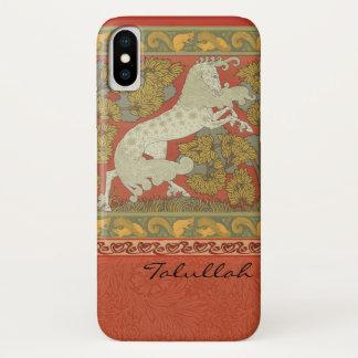 Medieval Horses Design iPhone X Case