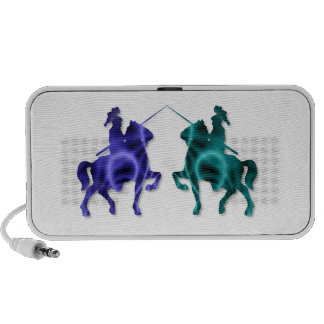 Medieval Horses Portable Speakers