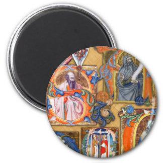 Medieval Illuminations Refrigerator Magnets