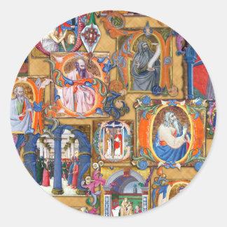 Medieval Illuminations Stickers