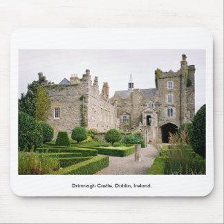 Medieval Ireland Castle - Drimnagh Castle Dublin Mouse Mat