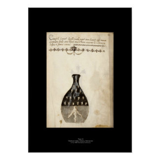 Medieval Italian Alchemy Poster Plate 10