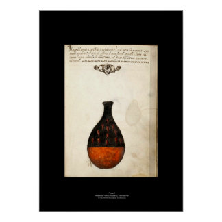 Medieval Italian Alchemy Poster Plate 5