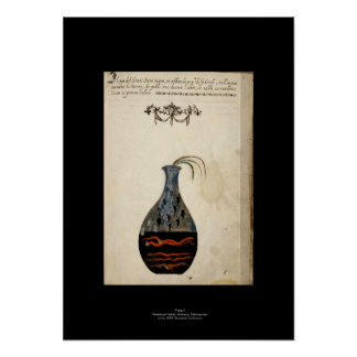 Medieval Italian Alchemy Poster Plate 6