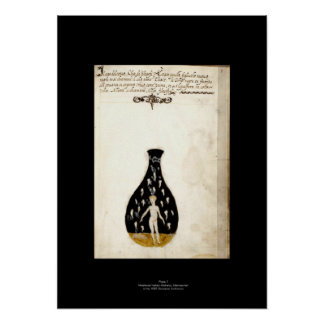 Medieval Italian Alchemy Poster Plate 7