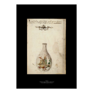 Medieval Italian Alchemy Poster Plate 8