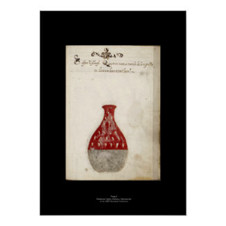 Medieval Italian Alchemy Poster Plate 9
