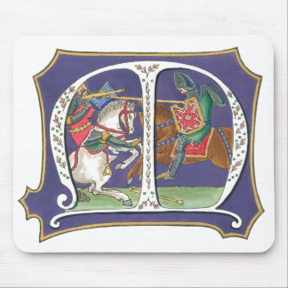 Medieval Joust Mouse Pad