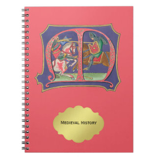 Medieval Joust Notebook