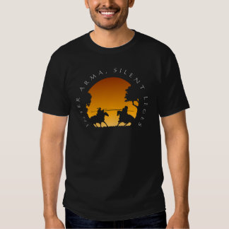 medieval joust t-shirts