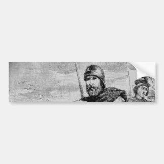 Medieval Knight Bumper Sticker
