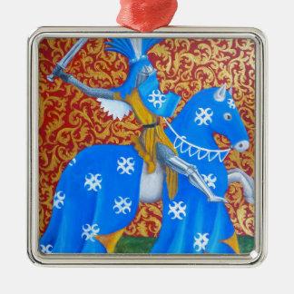 Medieval Knight Christmas Tree Ornament