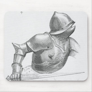 Medieval Knight Mouse Mat