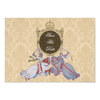 Medieval Knight Save The Date Cards 13 Cm X 18 Cm Invitation Card