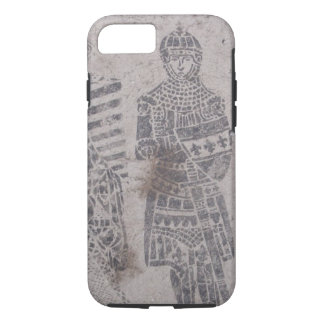 Medieval Knights Graffiti iPhone 7 Case