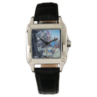 medieval knights jousting on horses art wrist watches