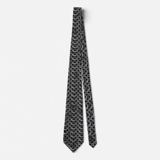 Medieval Knights Templar Chain-Mail effect Tie
