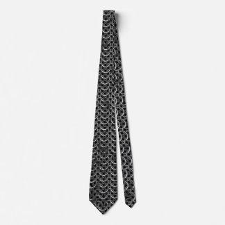 Medieval Knights Templar Chain-Mail effect Tie