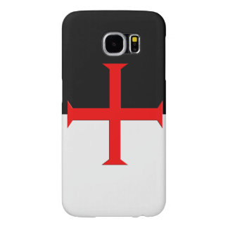 Medieval Knights Templar Cross Flag Samsung Galaxy S6 Cases