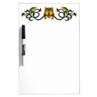 Medieval Lion Design Dry Erase Board
