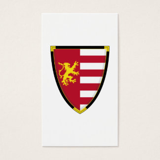 Medieval Lion Shield Bookmark Business Card