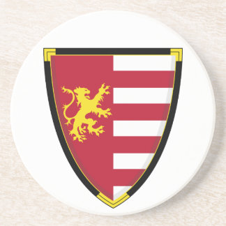 Medieval Lion Shield Coaster