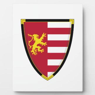 Medieval Lion Shield Plaque