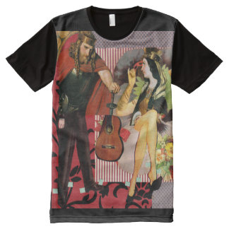 medieval love All-Over print T-Shirt