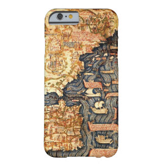 Medieval Map iPhone Case
