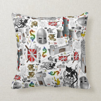 Medieval Mash-up Cushion